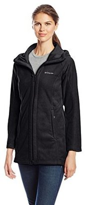 Columbia Women's Benton Springs II Long Hooded Jacket $75 thestylecure.com