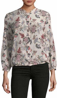 Marella Best Floral Silk Blouse