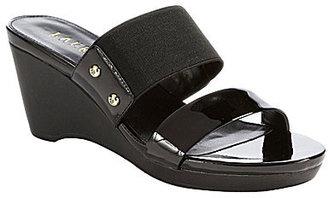 Lauren Ralph Lauren Rhianna Slide-On Wedge Sandals