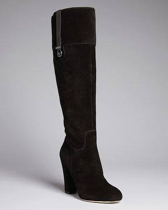 Joan & David Tall Dress Platform Boots - Sterla