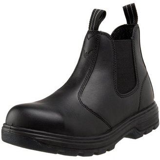 """Thorogood Men's Station 6"""" Quick Release Safety Boot,Black,4.5 M US"""