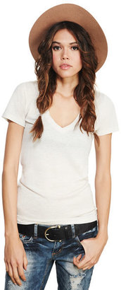 Wet Seal Tri-Blend V-Neck Tee
