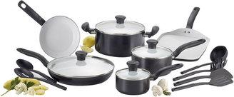 T-Fal Ceramic Initiatives 16-pc. Ceramic Cookware Set