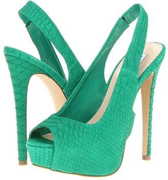 Steve Madden Adin (Green Suede) - Footwear