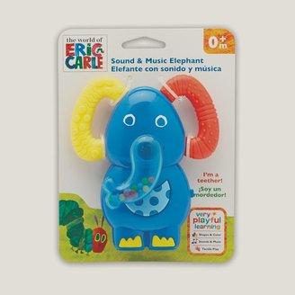 Kids Preferred Eric Carle Elephant Teething Rattle Toy