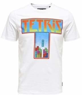 ONLY & SONS Tetris-Print Cotton Tee