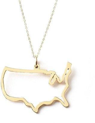 Maya Brenner World Necklace - Usa