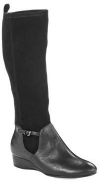 Taryn Rose Fuller Knee-High Boots