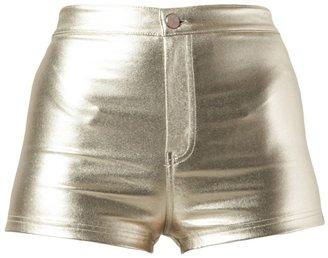 Motel Rocks hot galaxy shorts