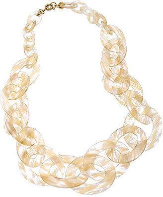 Bellissima Summer Blonde Graduated Link Chain Necklace