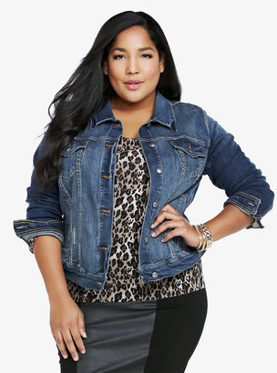 Torrid Denim - Medium Wash Denim Jacket