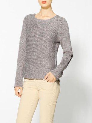 Maison Scotch Sweater With Metallic Elbow