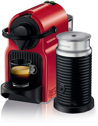 Nespresso by Breville BEC200XR Inissia Capsule Coffee Maker: Red