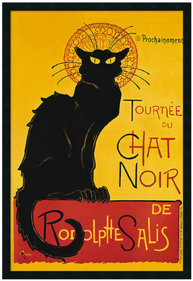 'Tournee du Chat Noir' Framed Art by Theophile Alexandre Steinlen