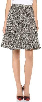 Alice + Olivia Ivy Midlength Circle Skirt