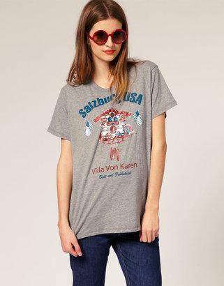 Karen Walker Villa Von Karen Boyfriend T-Shirt