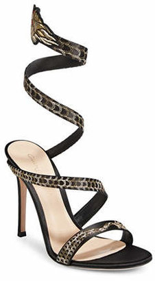 Gianvito Rossi Dragon Strap Sandals