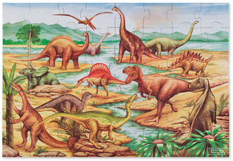 Melissa & Doug Toy, Dinosaurs Floor Puzzle (48 pc) - Dinosaur Toy
