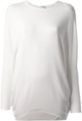 Helmut Lang Villous fleece top
