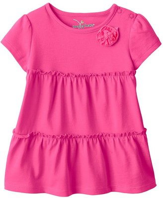 Babydoll Jumping beans ® solid tiered top - baby