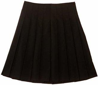 Trutex Girl's Stitch Down Pleat Skirt,(Manufacturer Size: W34/L24)