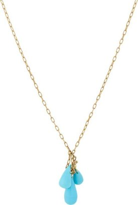 Ten Thousand Things Women's Turquoise Cluster Pendant Necklace-Colorle