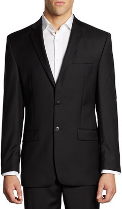 Calvin Klein Classic-Fit Wool Suit Jacket