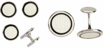 Barneys New York Men's Enamel Cufflink & Stud Set