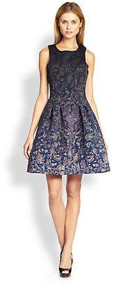 Cynthia Rowley Printed A-Line Dress
