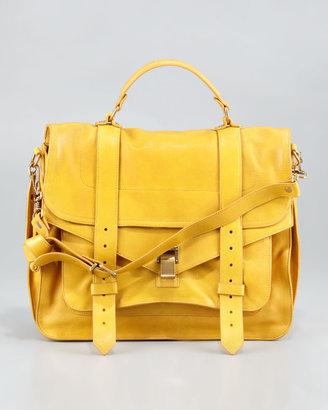 Proenza Schouler PS1 Large Satchel Bag, Mustard