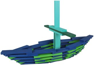 Green Baby CitiBlocs Cool Colors Building Set (100 pcs)