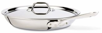 "All-Clad Stainless Steel 12"" Fry Pan with Lid"