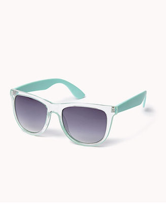 Forever 21 F4391 Clear Wayfarer Sunglasses