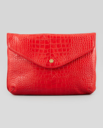 Eric Javits Olivia Clutch Bag, Red
