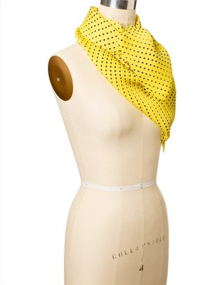 The Limited Pleated Disco Dots Scarf