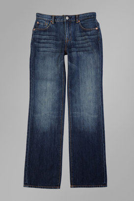 7 For All Mankind Boys 8-16 Standard Straight Leg In New York Dark