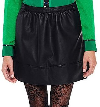 JCPenney I 'Heart' Ronson® Faux Leather Skirt