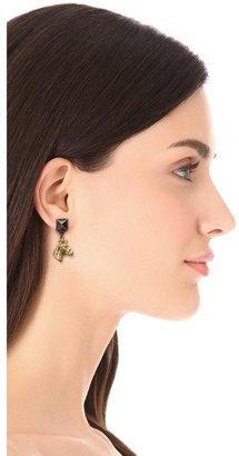 Fallon jewelry Stallion Earrings