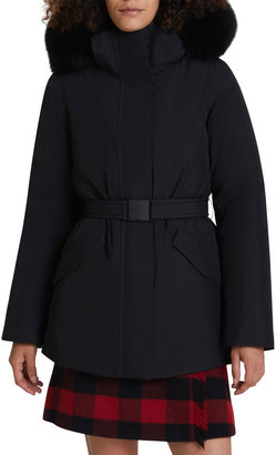 Woolrich Holly Arctic Parka with Detachable Hood and Fur