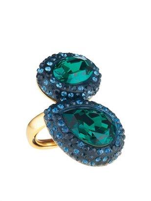 Oscar de la Renta Crystal Ring