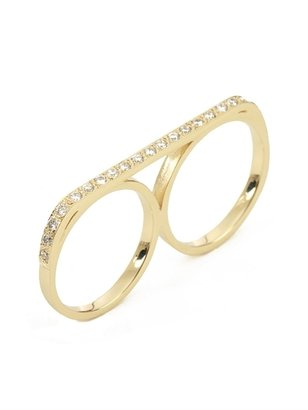 Campise Diamond Double Ring
