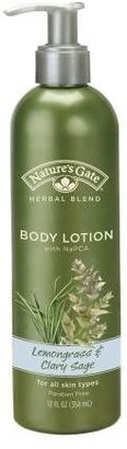 Nature's Gate Herbal Blend Body Lotion with NaPCA Lemongrass & Clary Sage