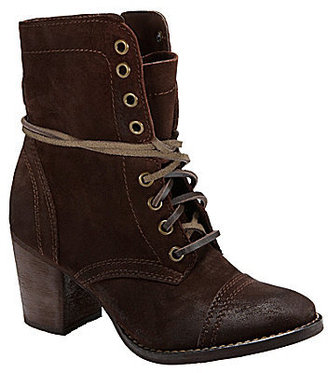 Steve Madden Gretell Lace-Up Booties