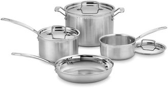 Cuisinart 7-pc. MultiClad Pro Stainless Cookware Set