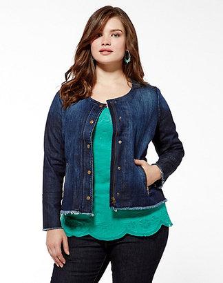 Lucky Brand Adamson Cropped Denim Jacket