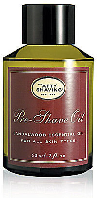 The Art of Shaving Pre-Shave Oil with Sandalwood Essential Oil