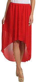 MICHAEL Michael Kors Pleated High-Low Skirt