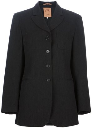 Romeo Gigli Pre-Owned long sleeved jacket