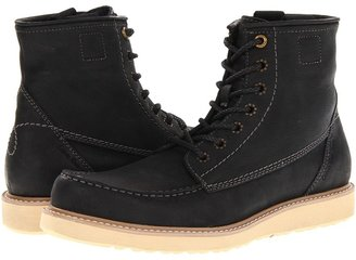 Calvin Klein Jeans Roy (Black Scratched Leather) - Footwear