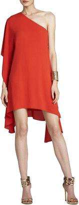BCBGMAXAZRIA Alana Side-Draped Dress